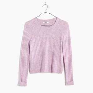 Madewell Bookend Pullover Sweater Top